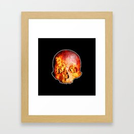 Hot Death Framed Art Print