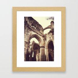 Melrose Abbey Framed Art Print