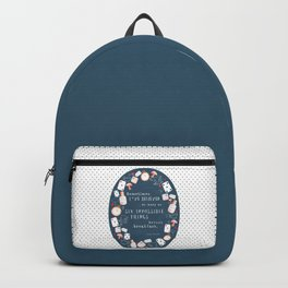 Alice in Wonderland - Six Impossible Things Backpack