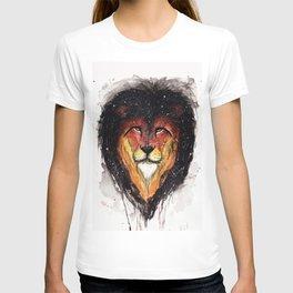 Fire Lion. T-shirt