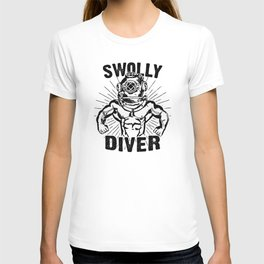 Swolly Diver T-shirt