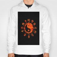 yin yang Hoodies featuring Yin yang. by DesignAstur