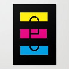 E like E Canvas Print