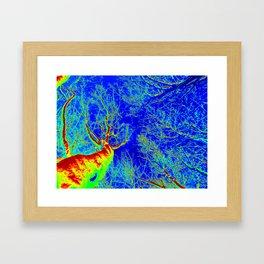 Thermal art 184 Framed Art Print