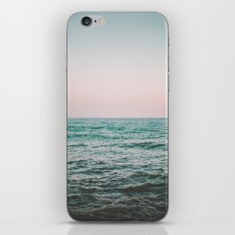 blush ocean iPhone Skin