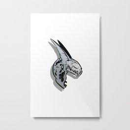 BoneHead C Metal Print