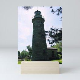 Erie Land Lighthouse Mini Art Print