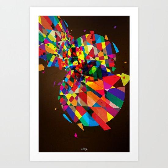 Collapse Art Print
