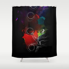 The Juggler - Circus of Imagination Shower Curtain