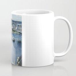 Earth Falls Away Coffee Mug