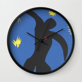 Henri Matisse, Icarus (Icare) from Jazz Collection, 1947, Artwork, Men, Women, Youth Wall Clock