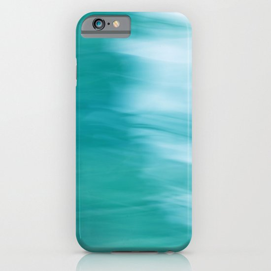 Abstract Blue & White iPhone & iPod Case