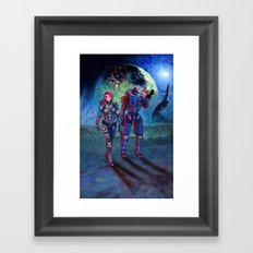 Trouble On Palaven Framed Art Print