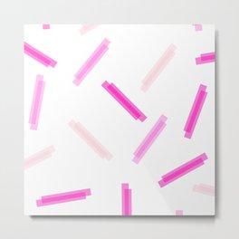 LINA ((the pinks)) Metal Print