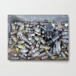 Kablooie Tubes Metal Print