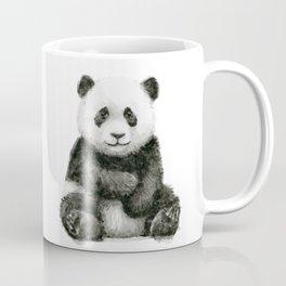 Panda Baby Watercolor Animal Art Coffee Mug