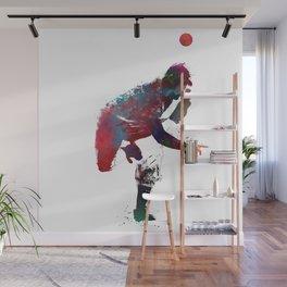 Baseball player 9 #baseball #sport Wall Mural
