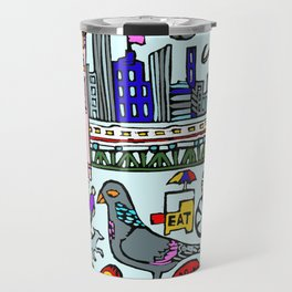 City In Color Travel Mug