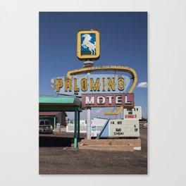 Tucumcari: Palomino Canvas Print