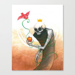 maybe this apple Canvas Print