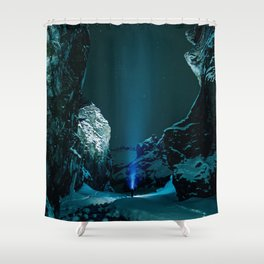 Ice Breaker Star Gazer Shower Curtain