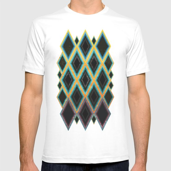 Diamond pattern T-shirt