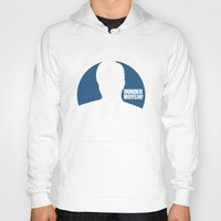 dwight schrute Hoodies featuring Dwight Schrute logo by Buby87