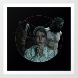 The Witch alternative poster Art Print