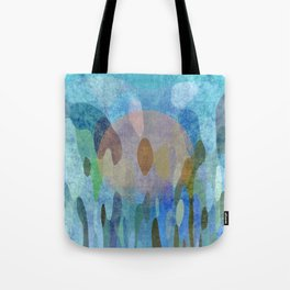 Sunrise in my garden Tote Bag