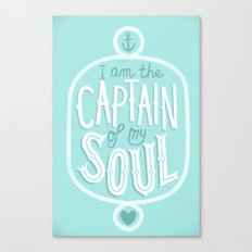I am the Captain of my Soul Canvas Print