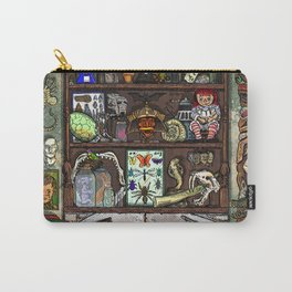 Creepy Cabinet of Curiosities Carry-All Pouch
