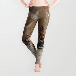 Sandy Toe Love Leggings