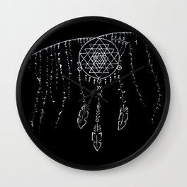 Shri Yantra / Dream Catcher Wall Clock
