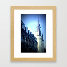 St Louis Cathedral - NOLA Framed Art Print