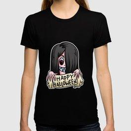 Halloween Witch Monster Girls Children Gift T-shirt