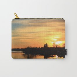 Floodplain at Sunset 3 Carry-All Pouch