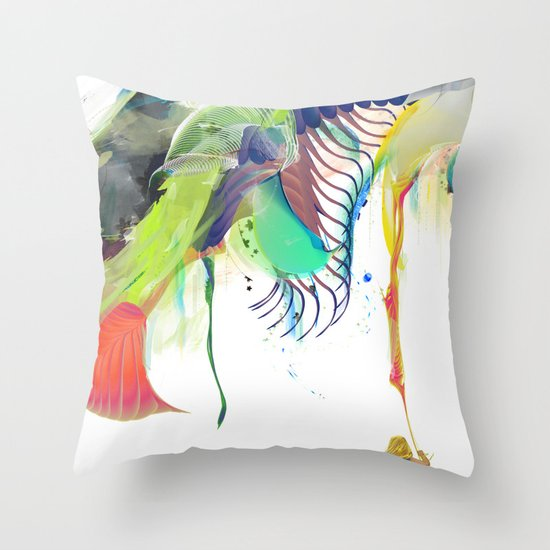 Azalia Throw Pillow