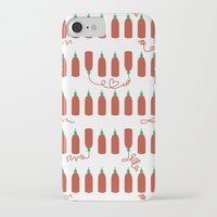 sriracha iPhone & iPod Cases featuring That Sweet Heat by Volkstricken