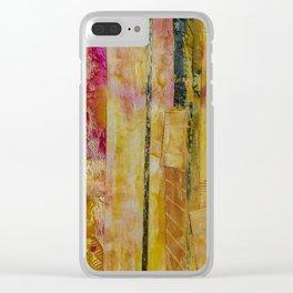 Birch Girl Clear iPhone Case
