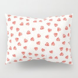 Sparkly hearts Pillow Sham