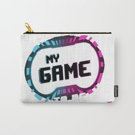 I Paused my Game to be Here (2) Carry-All Pouch