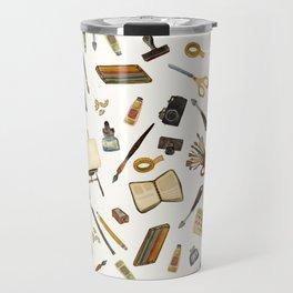 Creative Artist Tools - Watercolor Travel Mug