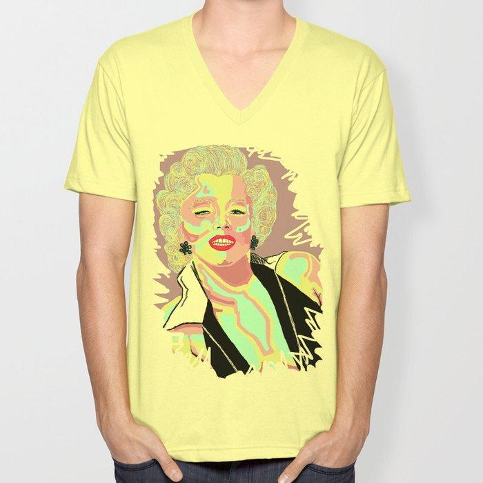 Marilyn M Unisex V-Neck