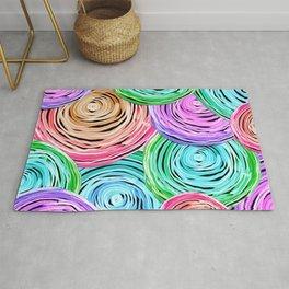 Colorful Orbs Rug