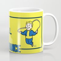 fallout Mugs featuring Endurance S.P.E.C.I.A.L. Fallout 4 by sgrunfo