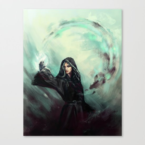 Fury Canvas Print