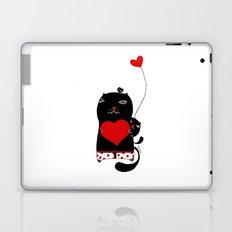 Cats with hearts Laptop & iPad Skin