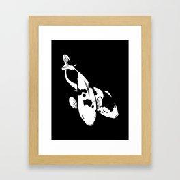 Wild Kois Framed Art Print