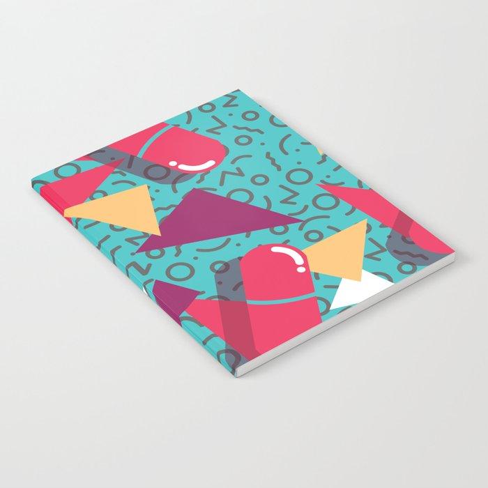 Pills Pattern 014 Notebook