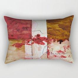 Bleeding Rectangular Pillow